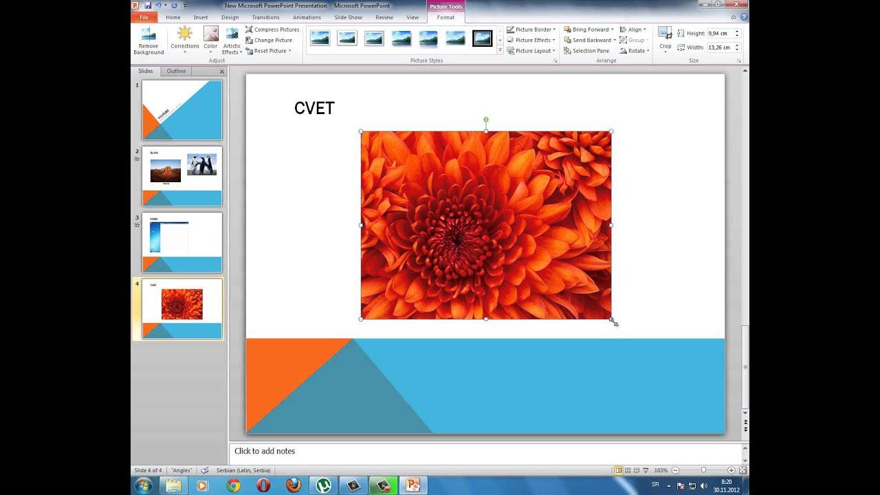Powerpoint Kako Napraviti Powerpoint Prezentaciju