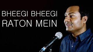 bheegi bheegi raton mein