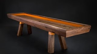 The shuffleboard has always been the cornerstone of craftsmanship. The game had some of its early advocacy from American