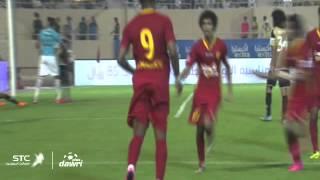 هدف القادسية الأول ضد الاتحاد في الجولة 4 من دوري عبداللطيف جميل