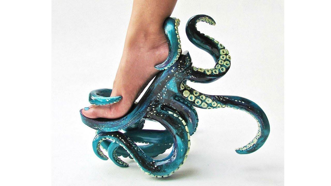 943517a7da36 Полный улет. Дизайнерская обувь будущего. - YouTube
