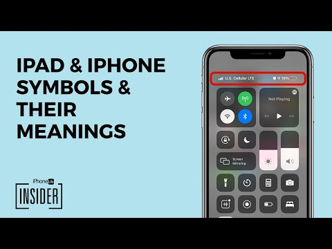 iPhone Icons: iPhone Symbols & Meanings for the Home Screen & Control Center