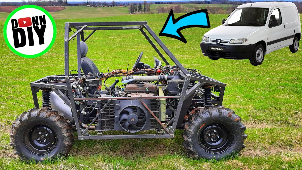 FIRST TEST DRIVE! - 4x4 Off-Road UTV Build Ep.25