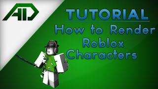 How to Render a Roblox Character - Cinema 4D