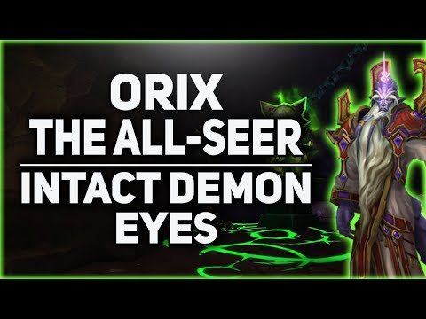 Orix the All Seer & Intact Demon Eyes Guide