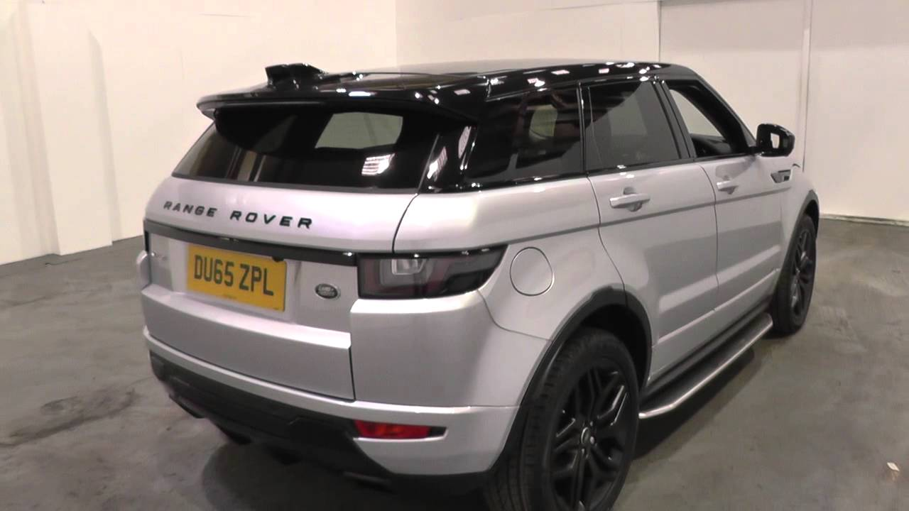 land rover range rover evoque 2016my 5 door td4 hse dynamic lux auto u9220 youtube. Black Bedroom Furniture Sets. Home Design Ideas