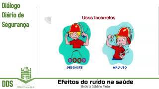 DDS: Efeitos do ruído na saúde (Diálogo Diário de Segurança)