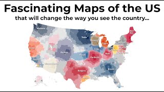 Fascinating Maps Monthly October 2020