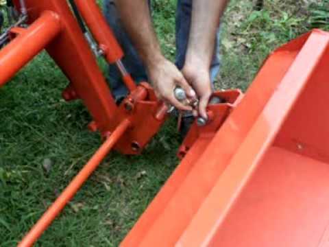 John Deere To Skid Steer Quick Tach Adapter