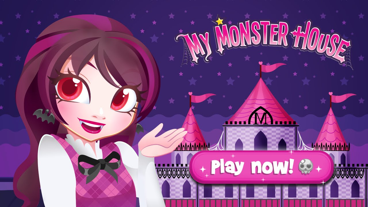 my monster house doll house decoration game for iphone and