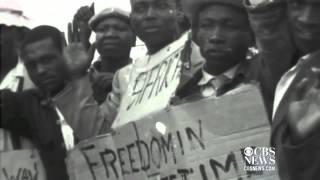 Sharpville massacre og Nelson Mandela fængsles
