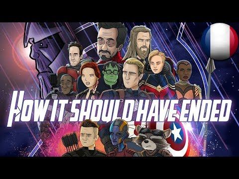 Comment Avengers: Endgame aurait dû finir