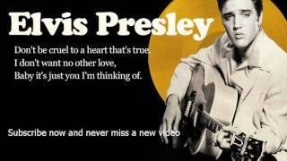 Скачать Elvis Presley Don T Be Cruel Lyrics Official