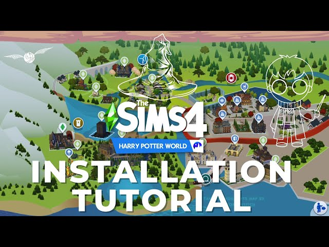🧙‍♂️How to Install the Harry Potter Save File & World Properly // Turorial + Links to Download