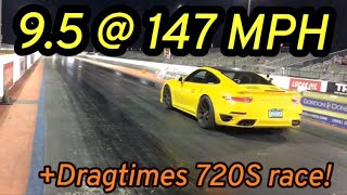 911 Turbo is FAST + discussing my race with Dragtimes 720S!