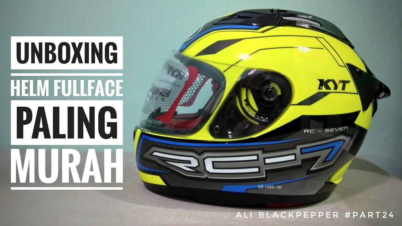 Unboxing Helm KYT RC7