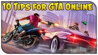 Top 10 Tips for NEW GTA 5 Online Players on PC! [GTA V]