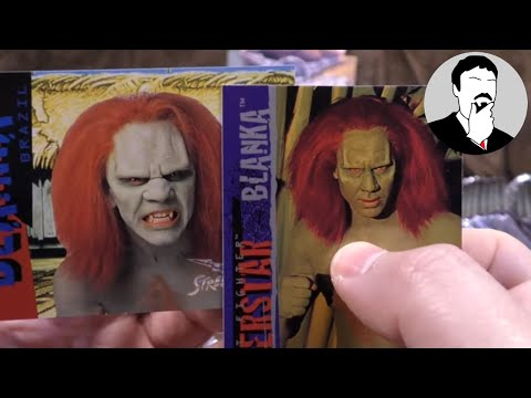 An Entire Box of Street Fighter The Movie Trading Cards | Ashens thumbnail