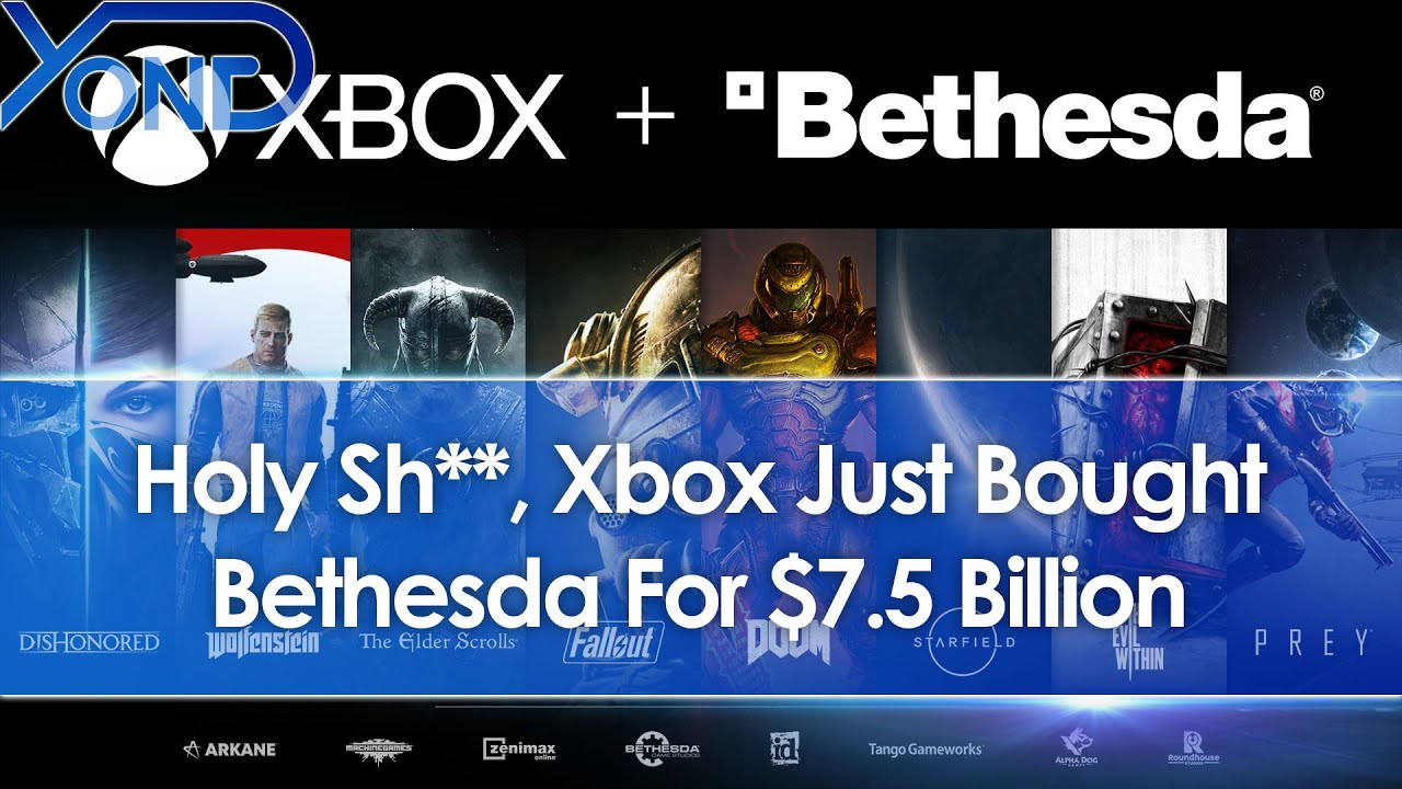 Microsoft To Buy Bethesda In $7.5 Billion Deal, Acquiring Fallout ...