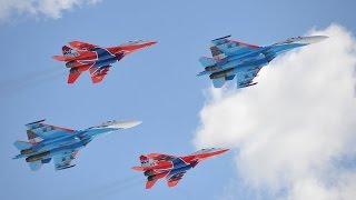 Виражи в 360: «Стрижи» и «Русские витязи» готовятся к Параду Победы