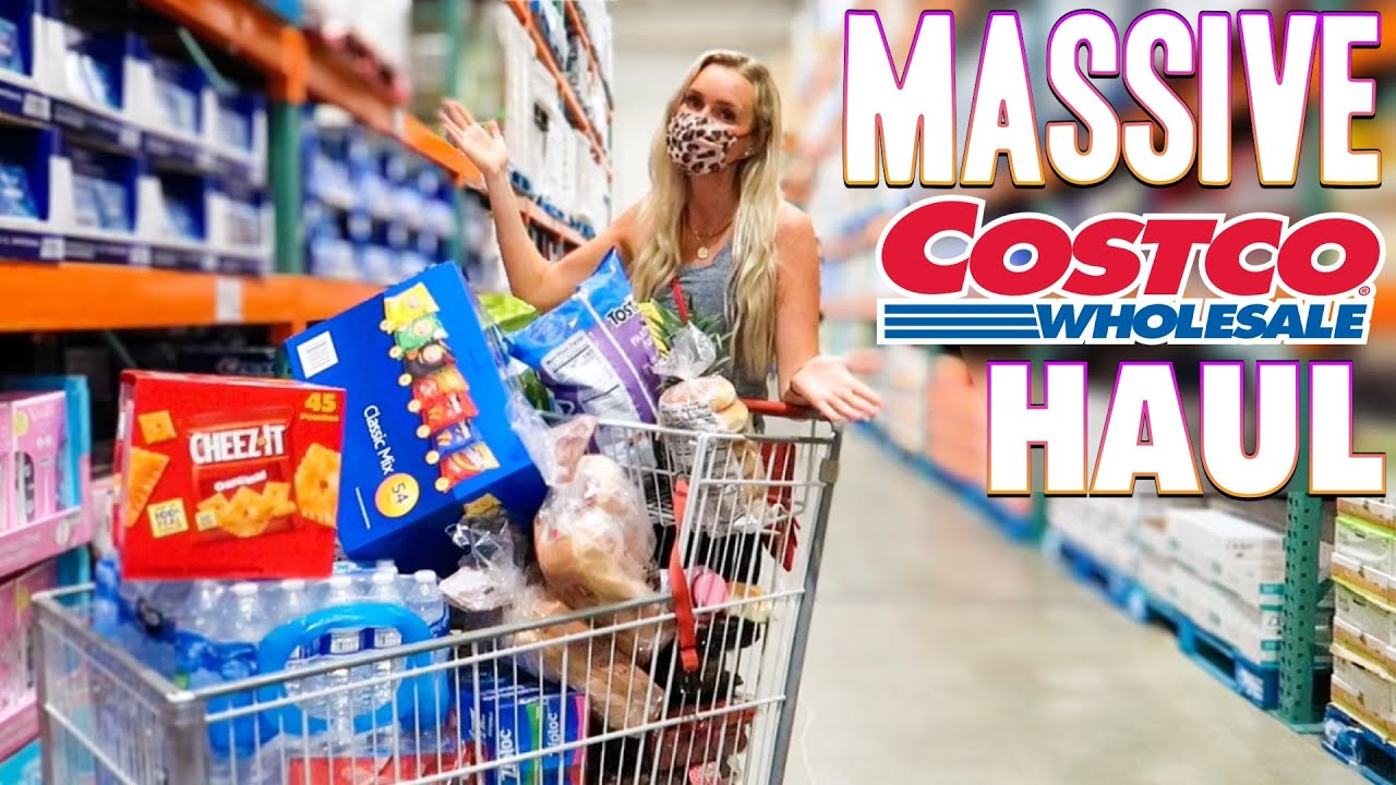 🤯 MASSIVE COSTCO SUMMER HAUL! SHOPPING AT COSTCO FOR BEST BEACH SNACKS! LARGEST AMAZON UNBOXING HAUL