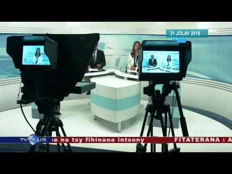 VAOVAO DU 31 JUILLET 2018 BY TV PLUS MADAGASCAR
