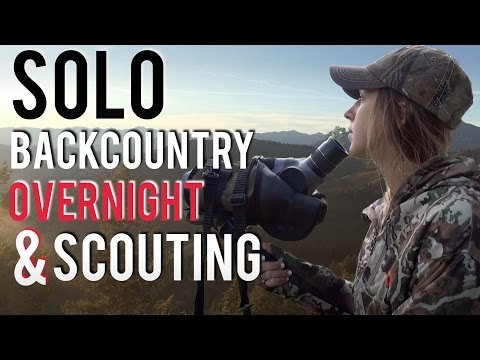 Scouting for Deer and Elk | Solo Backcountry Hunt
