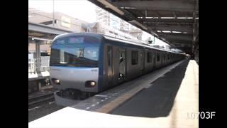 相鉄10000系(三菱IGBT) 鶴ヶ峰発着