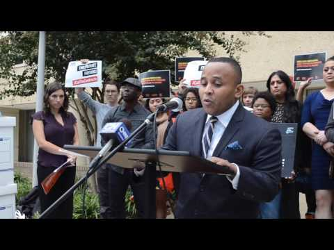 Rashad Robinson Calls for End to Private Detention