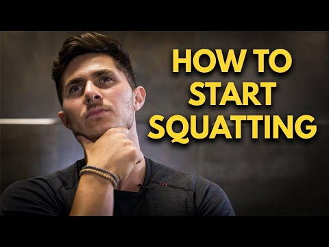 How To Start Squatting - Learn To Squat Like A PRO (FREE GUIDE)