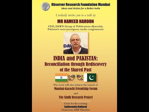 Part 3: India & Pakistan: Reconciliation through Rediscovery of the Shared Past