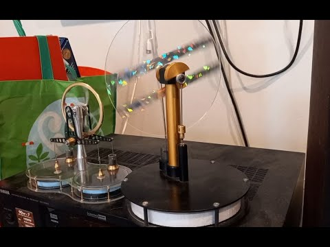 MYSTERY Solar Engines PMResearch silent low temp Stirling Engine Help!