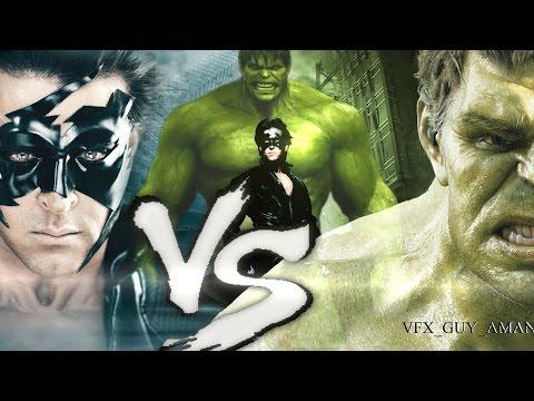 Krrish Vs Hulk (The Final Battle)  FAN MADE 