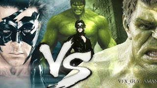 Download Krrish Vs Hulk (The Final Battle) |FAN MADE|