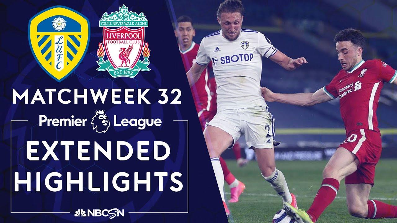 Download Leeds United v. Liverpool | PREMIER LEAGUE HIGHLIGHTS | 4/19/2021 | NBC Sports