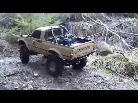 Tamiya Hilux rock crawler part two - scale rc