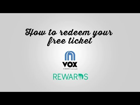 VOX Rewards: How to redeem your free tickets