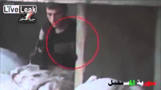 Война в Сирии Снайпер подстрелил пулемётчика