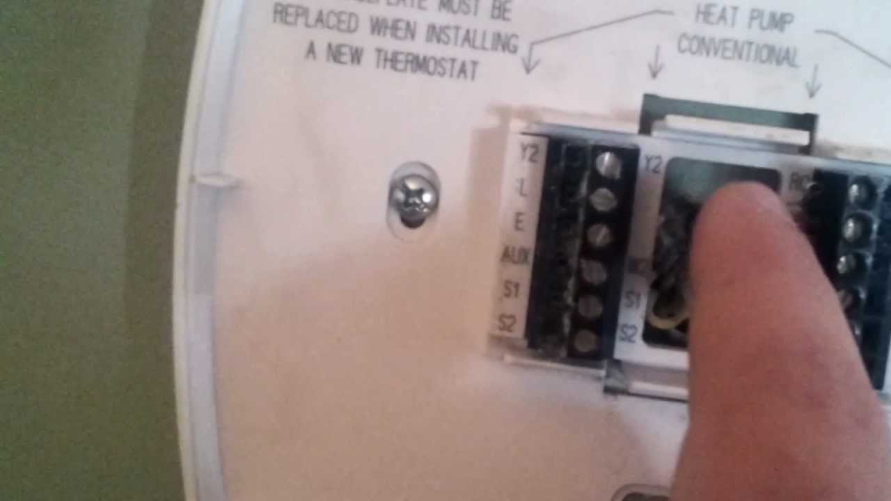Mcnally U0026 39 S Heating  U0026 Cooling How To Wire  Replace Thermostat