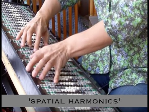 'Spatial Harmonics' - polychromatic composition by Dolores Catherino