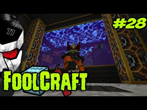 FOOLCRAFT #28 - BEAUTIFUL AQUARIUM! I LOVE THIS!  [Modded Minecraft 1.10]