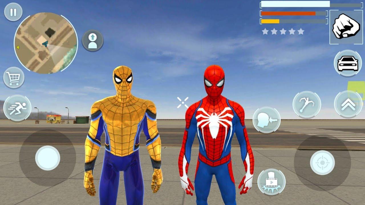 Süper Kahraman Örümcek Adam Oyunu - Super Crime City Battle #8 - Android Gameplay