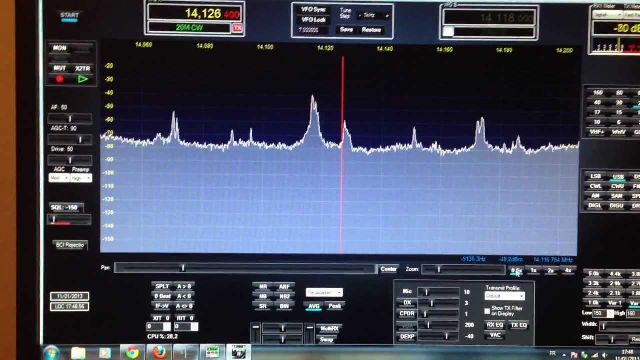 Omnirig Flexradio