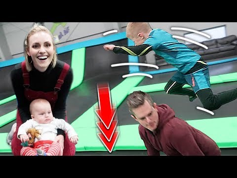 Trampoline PRANK Goes Too Far! | Ellie And Jared