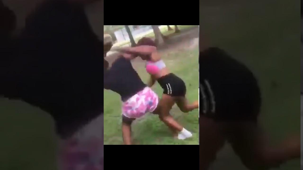 Black girl fighting, female castration bdsm