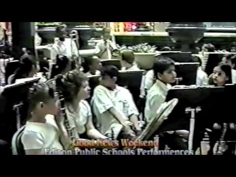 HHMS Jazz Performance at Menlo Park Mall 1999