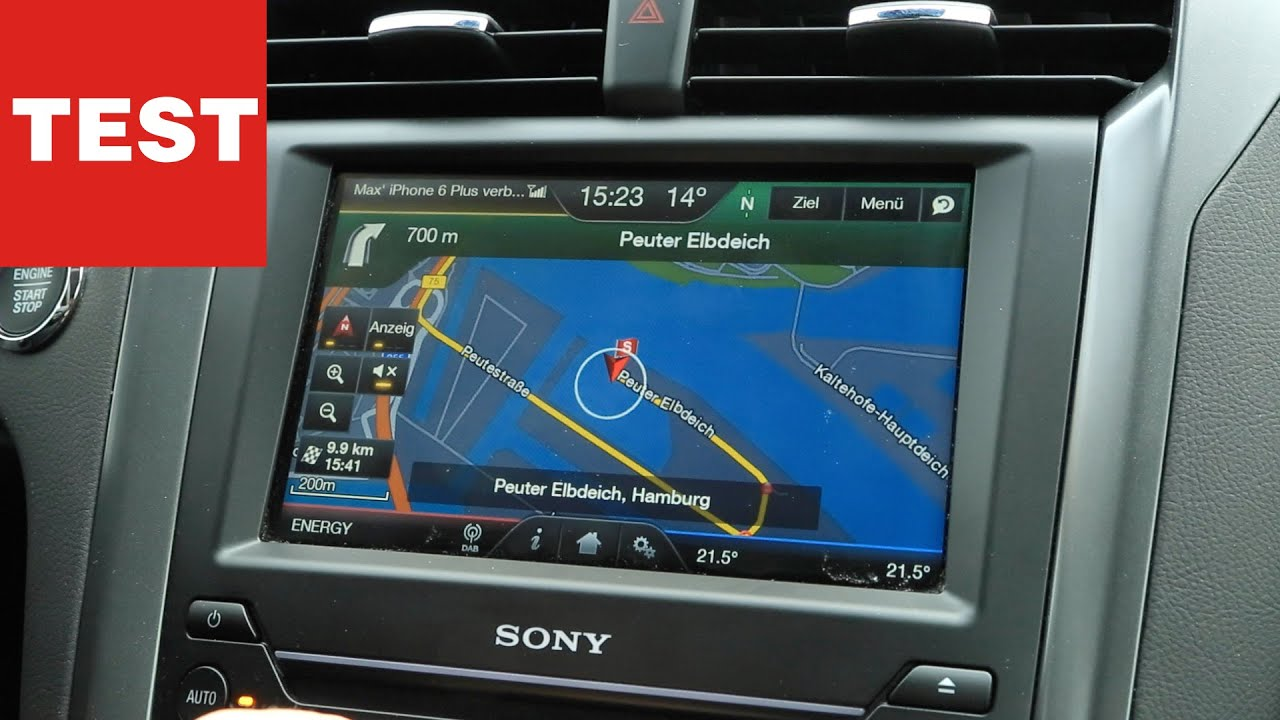 connected car ford mondeo mit ford sync 2 im test youtube. Black Bedroom Furniture Sets. Home Design Ideas