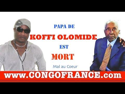 Papa de KOFFI OLOMIDÉ est Mort, Mal Au Coeur Regardez !!