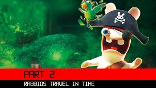 Rabbids Travel In Time 3DS HD Gameplay Walkthrough Part 2