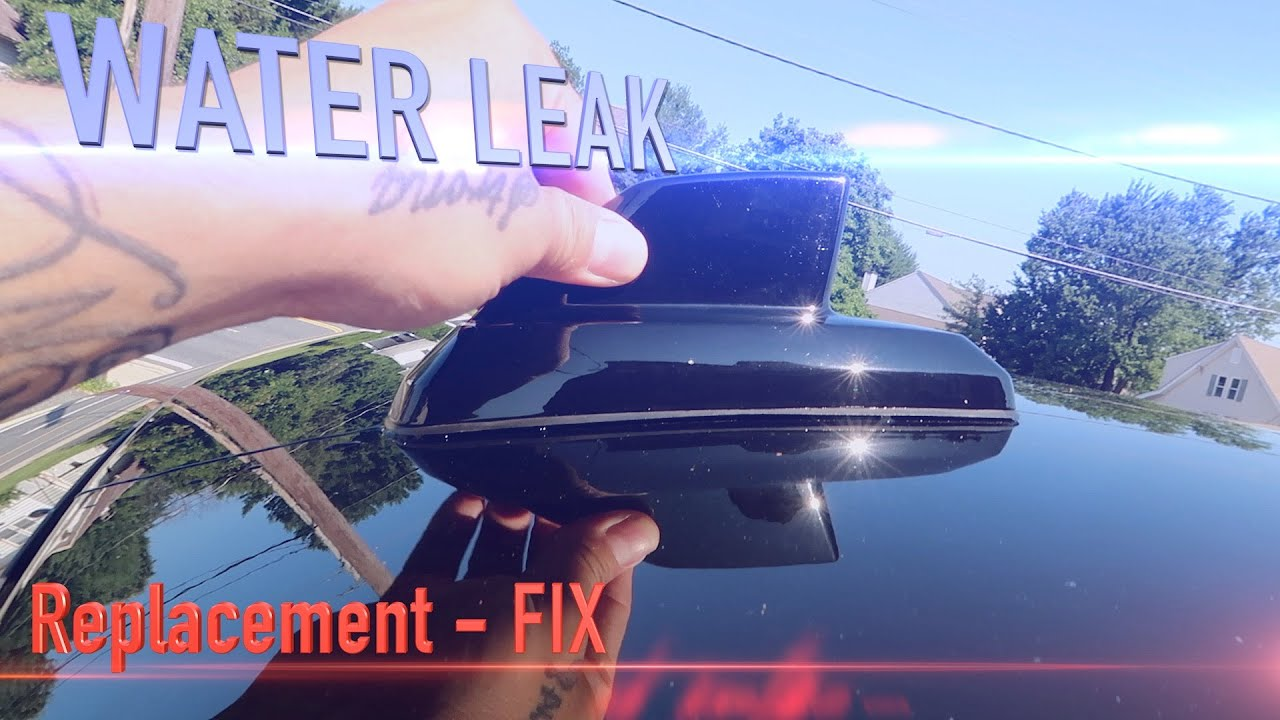 HOW TO Fix Replace chevy shark fin OnStar antenna water leak Chevy GM GMC  Cadillac